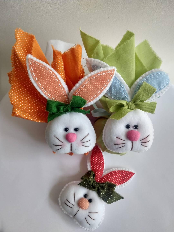 Como fazer uma lembrancinha de coelho de páscoa?