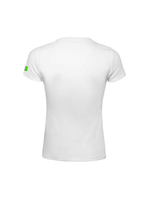 Camiseta Baby look Comemorativa - Branca