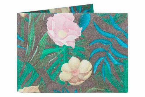 Carteira | Floral Verde