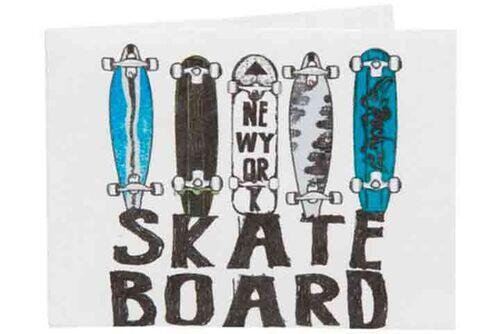 Carteira | Skateboard