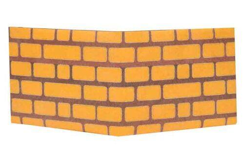 Carteira | Parede de tijolos
