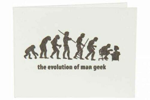 Carteira | The evolution of man geek - Branco