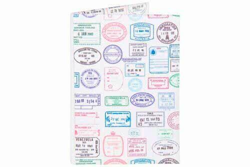 Porta Passaporte | Passaporte Stamps