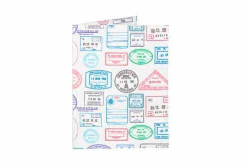 Porta Cartão | Passaporte Stamps