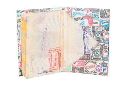 Porta Passaporte | Vintage