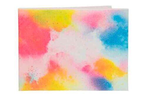 Carteira | Tintas coloridas