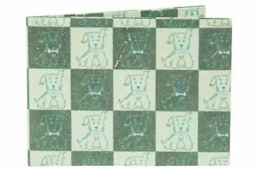 Carteira | Dog quadriculado