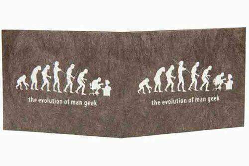 Carteira | The evolution of man geek - Preto