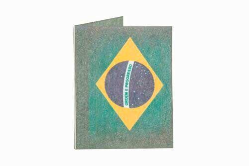 Porta Cartão | Bandeira do Brasil