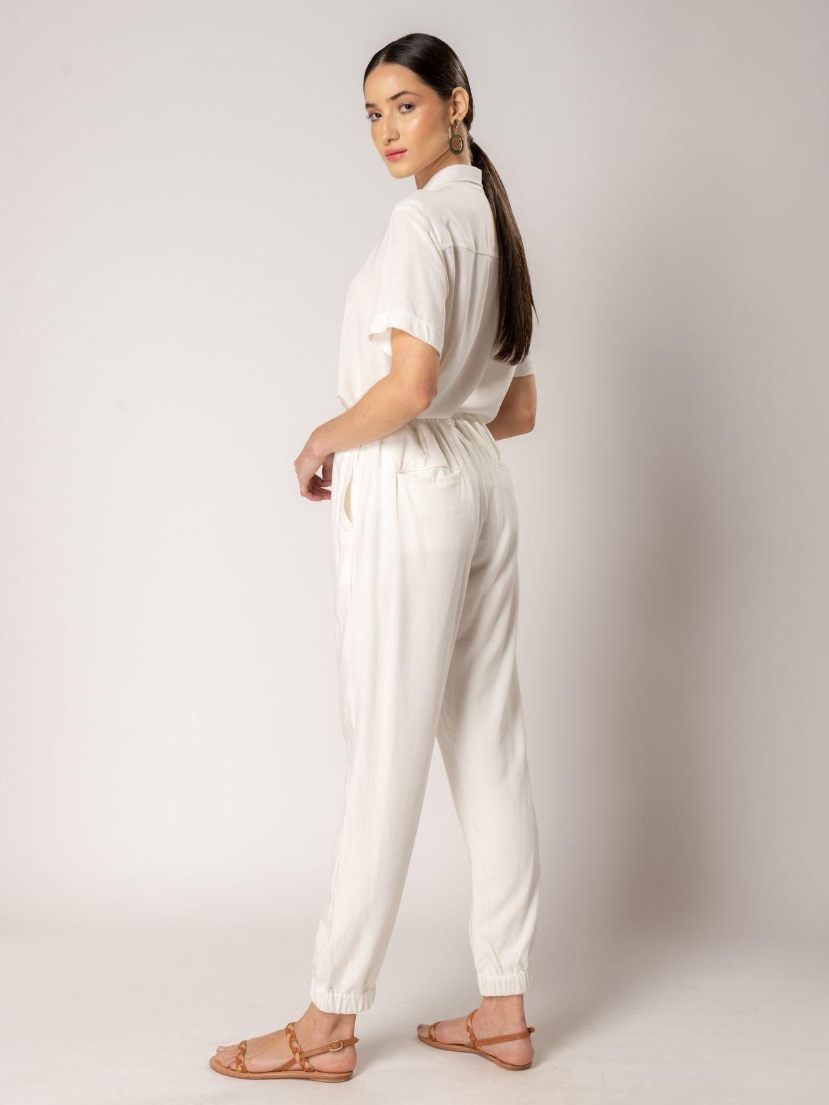 calça pacific off-white
