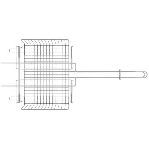Grelha Multiuso em Aço Inox 70,2x31,5cm Tramontina Churrasco