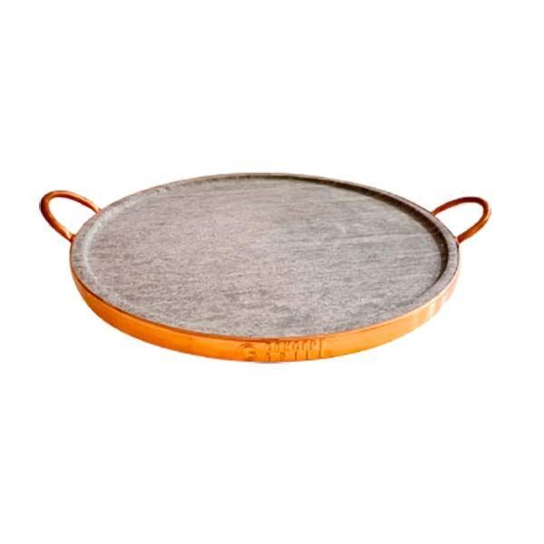 Forma para Pizza em Pedra Sabão Concept Grill