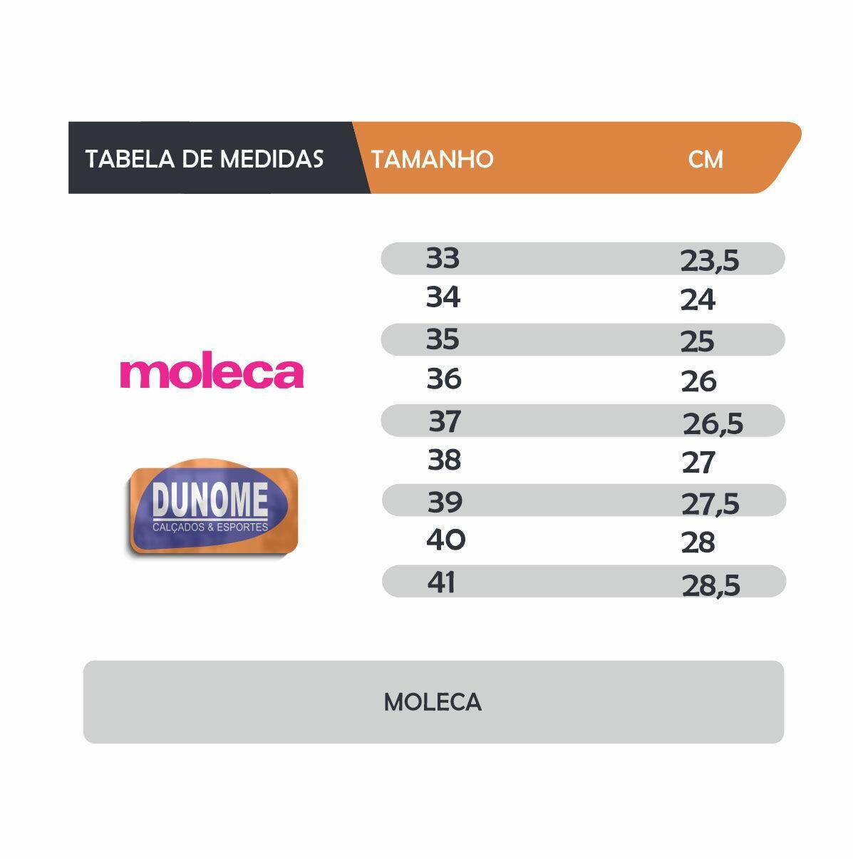 Moleca Sapatilha 520 59