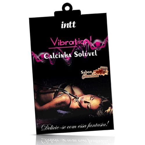 CALCINHA SOLUVEL CHOCOLATE VIBRATION