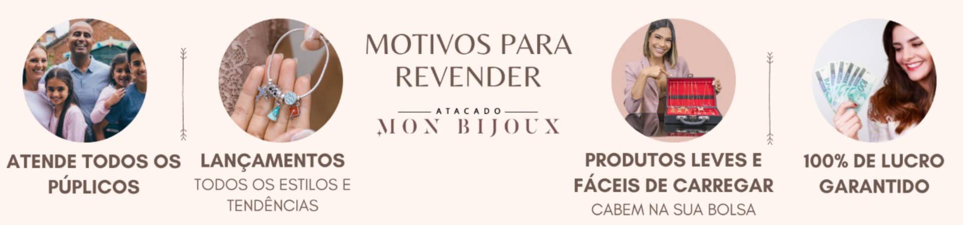 MOTIVOS PARA REVENDER E LUCRO 100