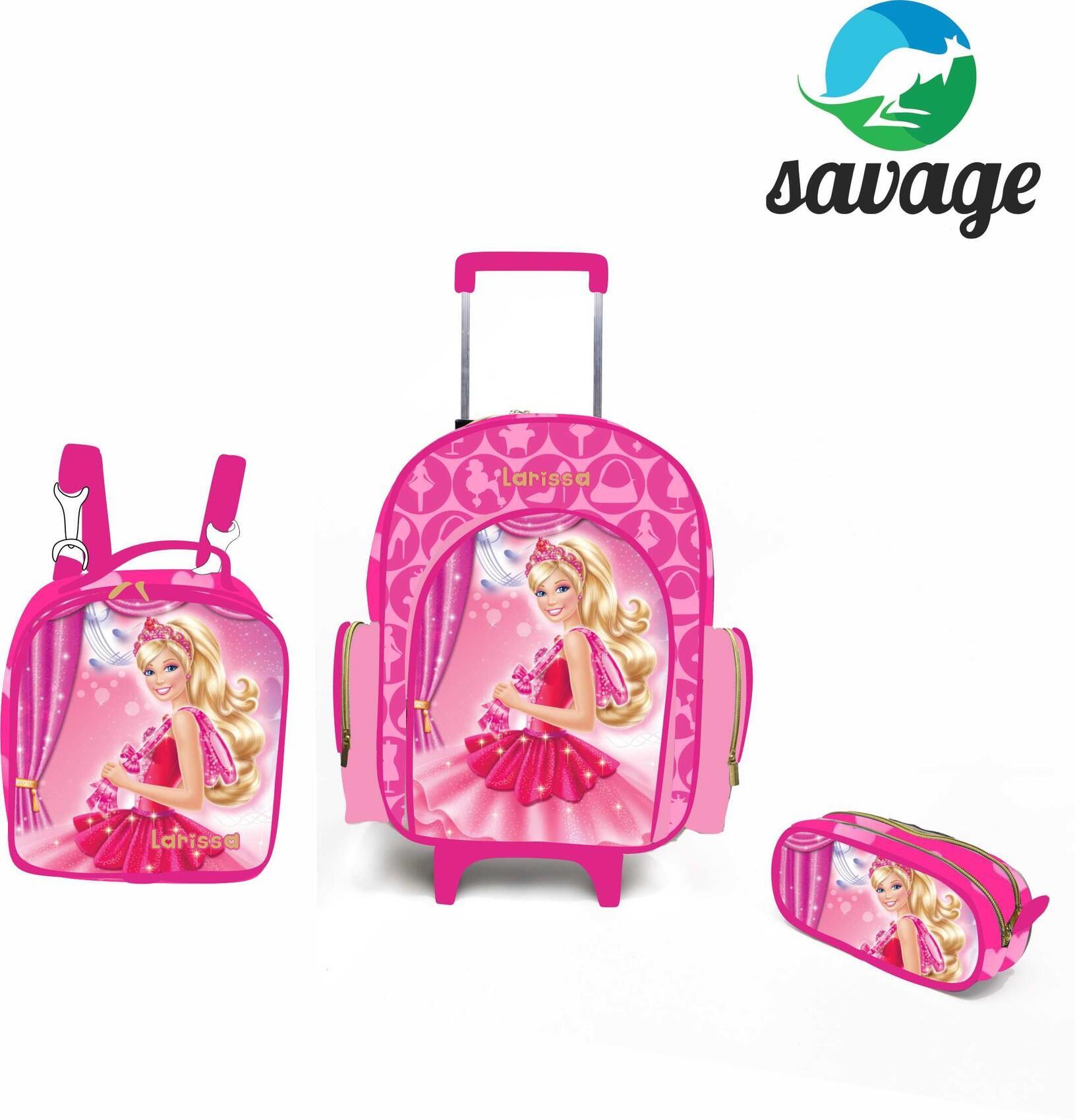 Kit Escolar personalizado Barbie
