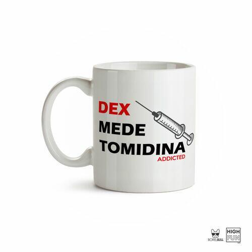 Caneca Anestesia Dexmedetomidina