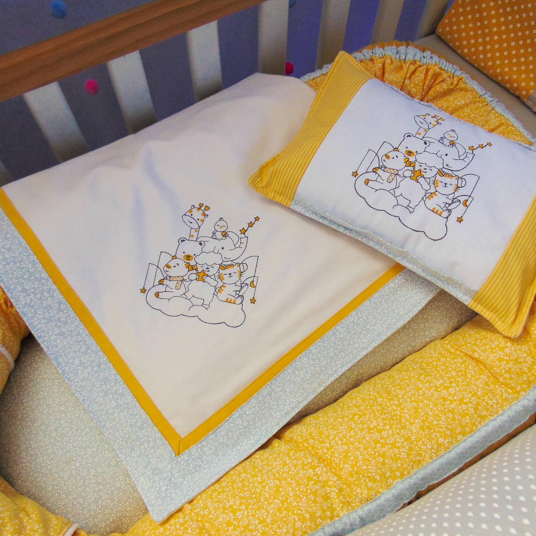 Ninho Redutor, Manta e Mini Travesseiro