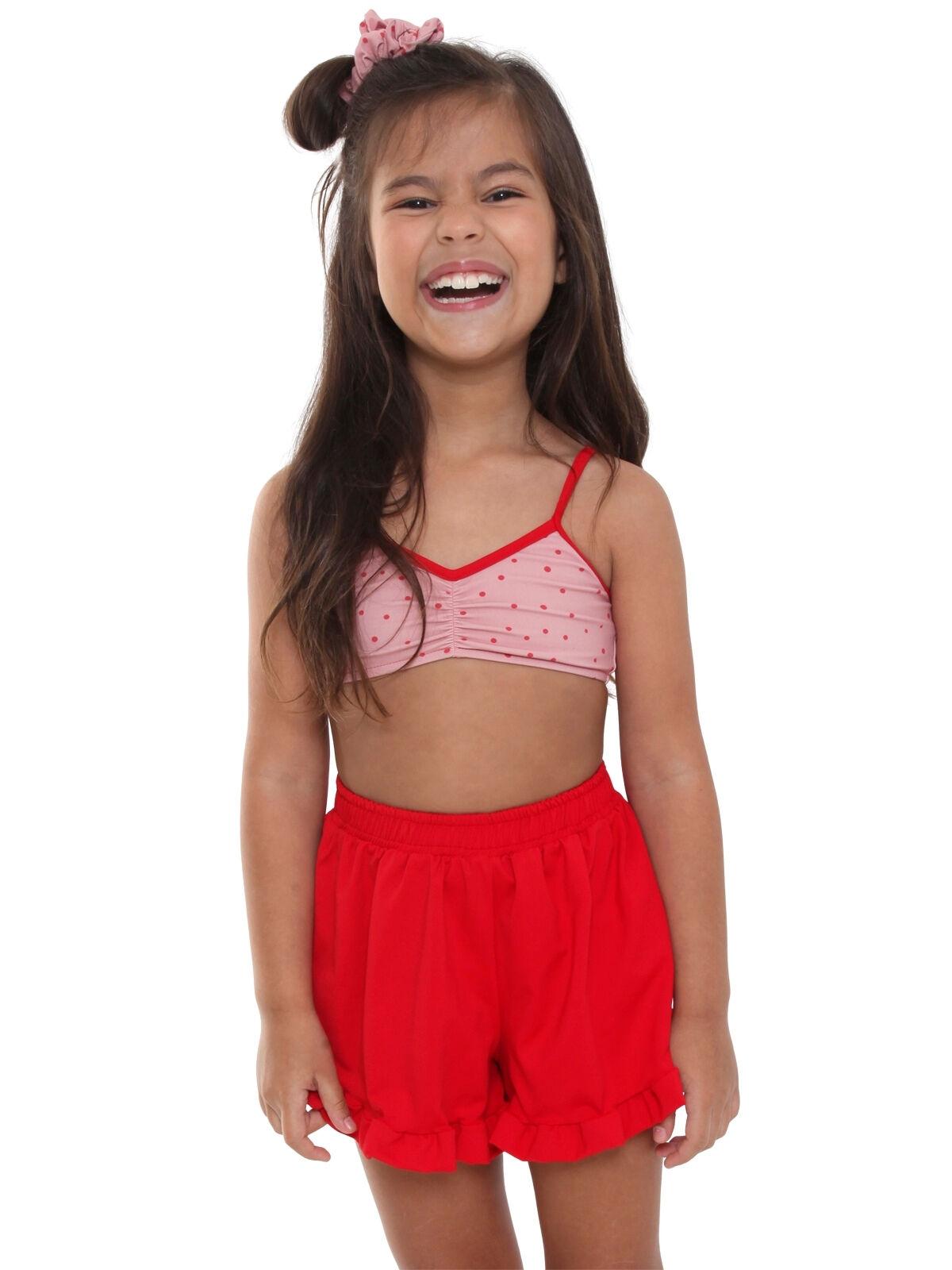 Short Infantil Nina Proteção UV