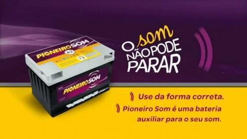Bateria Pioneiro Som (Venda condicionada à devolução da bateria inservível)