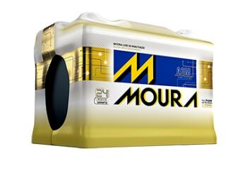 Bateria start stop MF72LD Moura  12v (Venda condicionada à devolução da bateria inservível)