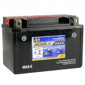 Bateria MA8-E Moura (Venda condicionada à devolução da bateria inservível)