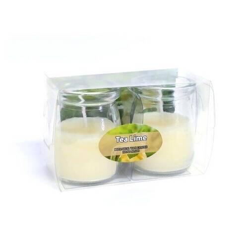 Vela Tea Lime Kit com 2 unidades de 60g Ref.1230