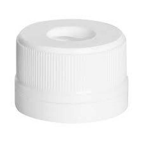 Tampa Plástica Lacre 24mm Furada