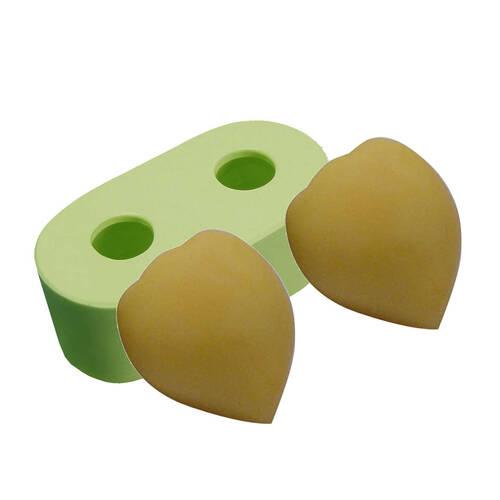 Molde Silicone Pessego mini 2 Cavidades Ref.4297