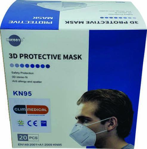 Máscara Proteção Facial KN95 (Unitária / Avulsa)