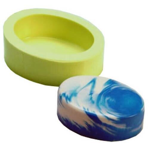 Molde Silicone Oval Ref.3846