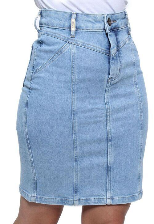 Saia Jeans Feminina Crocker