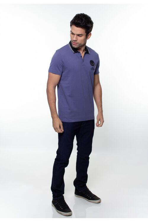 Camisa Polo Masculina Crocker