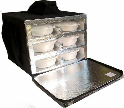 Bolsa Mochila Bag Térmica Motoboy Entrega 12 Marmitex de Isopor