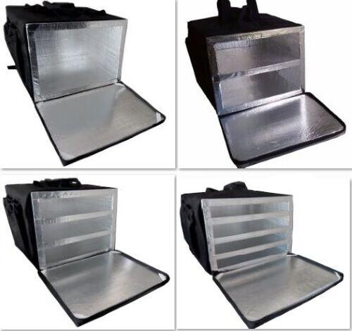 Bolsa Mochila Bag Motoboy Entrega Pizza 40cm Térmica Revestida Aluminio Com ou sem Divisórias