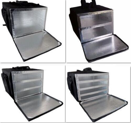 Bolsa Mochila Bag Motoboy Entrega Pizza 35cm Térmica Revestida Aluminio Com ou sem Divisórias
