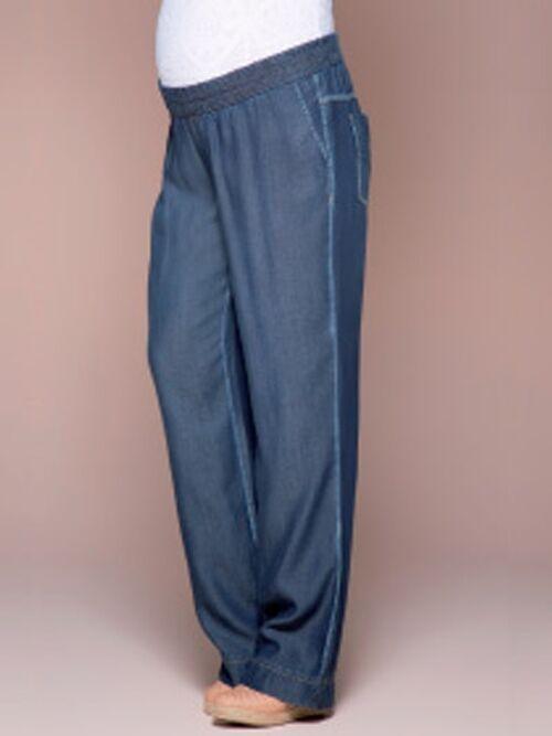 Calça Pantalona Cós de Elástico