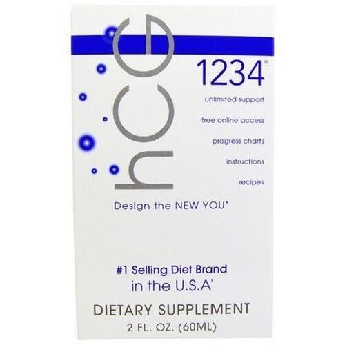 Diet Drops 1234 Sublingual - Creative Bioscience - 60 ML