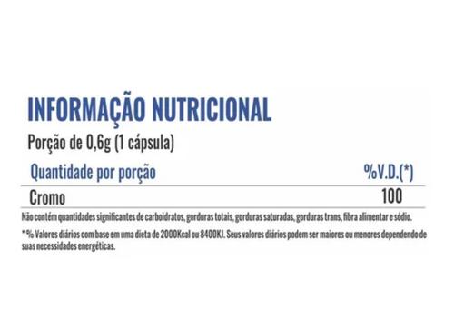 Picolinato De Cromo 120caps Chromium Picolinate - Profit Labs