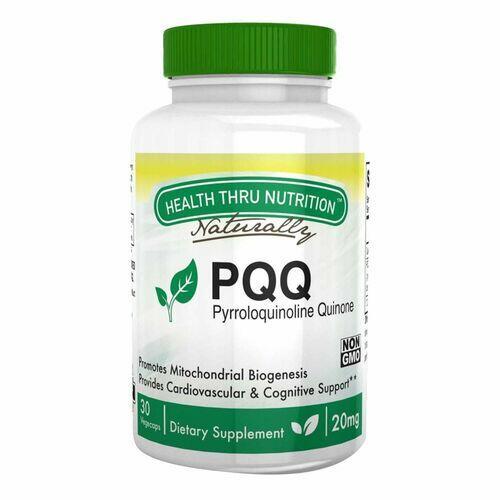 PQQ  (Pirroloquinolina Quinona) 20 mg - Health Thru Nutrition - 30 Cápsulas