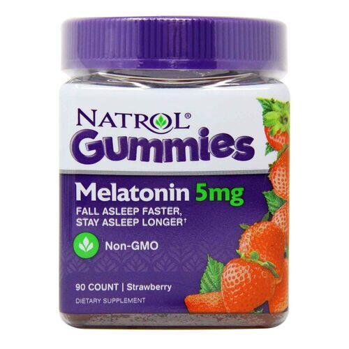 Melatonina em gomas 5 mg - Natrol - 90 Gomas