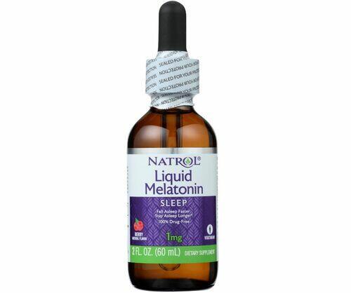 2 x Melatonina liquida - Natrol - Total 120 ml
