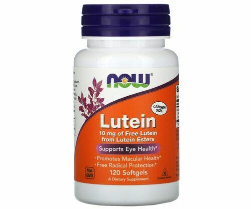 Luteina 10 mg - Now Foods - 120 Softgels