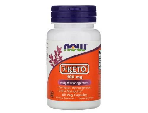 7-Keto DHEA 100 mg - Now Foods - 60 cápsulas