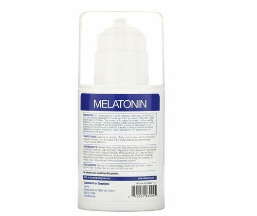 Melatonina em Creme - Life-flo - 57 g (hormônio do sono)