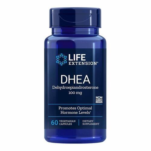 2x DHEA 100 mg - Life Extension - Total 120 cápsulas