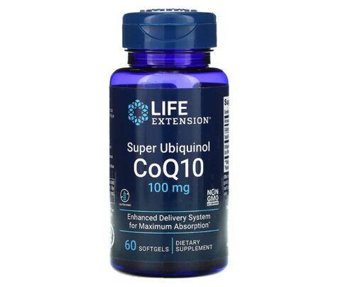 Super Ubiquinol Coq-10 100 mg - Life Extension - 60 softgels