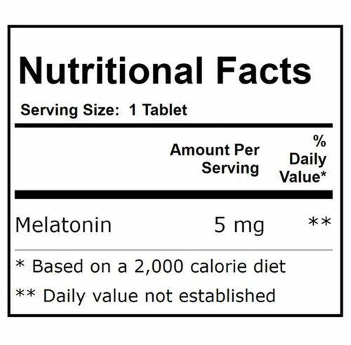 Melatonina 5 mg de liberação sustentada - Now Foods - 120 Tablets