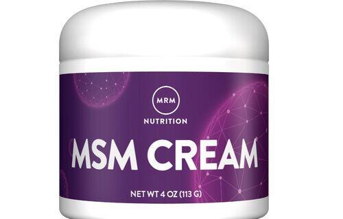 Creme MSM - MRM - 113 g - Bom para Pele e Articulações