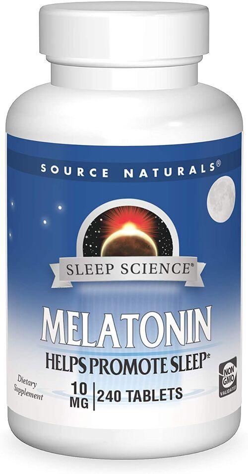Melatonina 10 mg - Source Natural´s - 240 Tablets
